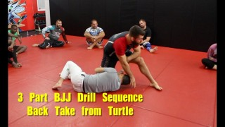 3 Part BJJ Drill Sequence – Back Take from Turtle – Nick Albin