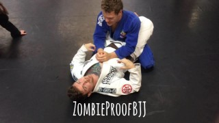EzekieLoop Choke vs Arm Wrap Triangle Defence – Kent Peters