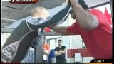 Georges St-Pierre Wrestles with 300lb NHL enforcer Georges Larocque