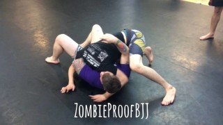 Guillotine vs Pressure On Butterfly Guard – Kent Peters