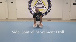 Side Control Movement Drill – Relson Gracie JJ