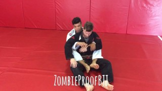 Wagnney Fabiano's Arm Triangle From Back – Kent Peters