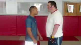 168lbs BJJ purple belt vs 248lbs Boxer: Challenge Fight