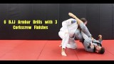 6 BJJ Armbar Drills with 3 Corkscrew Finishes – Nick Albin