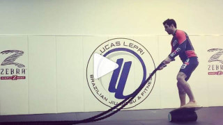 Lucas Lepri Working On Balance And Explosiveness Simultaneously
