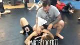 North South Choke From Knee On Belly – Kent Peters