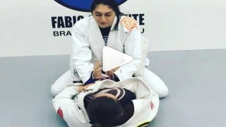 Closed guard Super Sub Comby by Dominyka Obelenyte