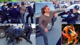Olympic Wrestling Gold Medalist Fights 7 Cops