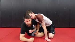 Counter a Darce Choke from Half Guard with a Sweep