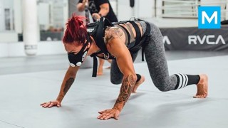 Cris Cyborg Training Highlights