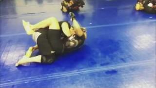 Eddie Alvarez Grappling w Frankie Edgar, preparing for UFC 205
