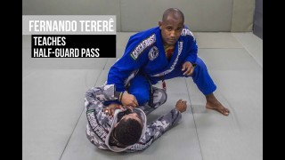 Fernando Tererê teaches half-guard pass