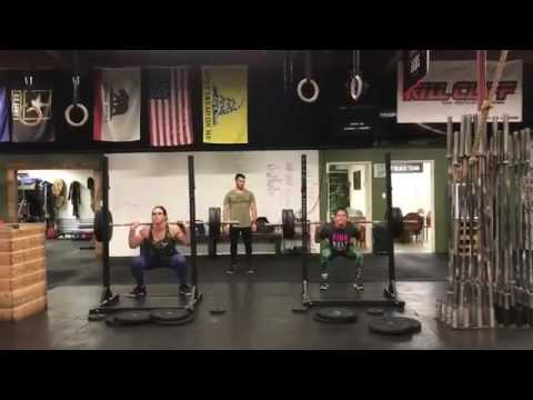 Gabi Garcia & Cris Cyborg Weight Training Together
