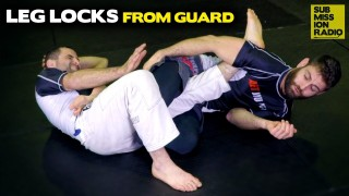 How to Hit Leg Locks When Caught On Bottom!