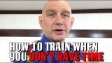 How to Train When You Have No Time to Train  – Stephan Kesting