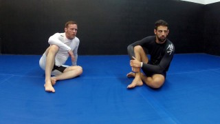 Knee Bar from top half guard with BJJ Blackbelt Jon Meyer