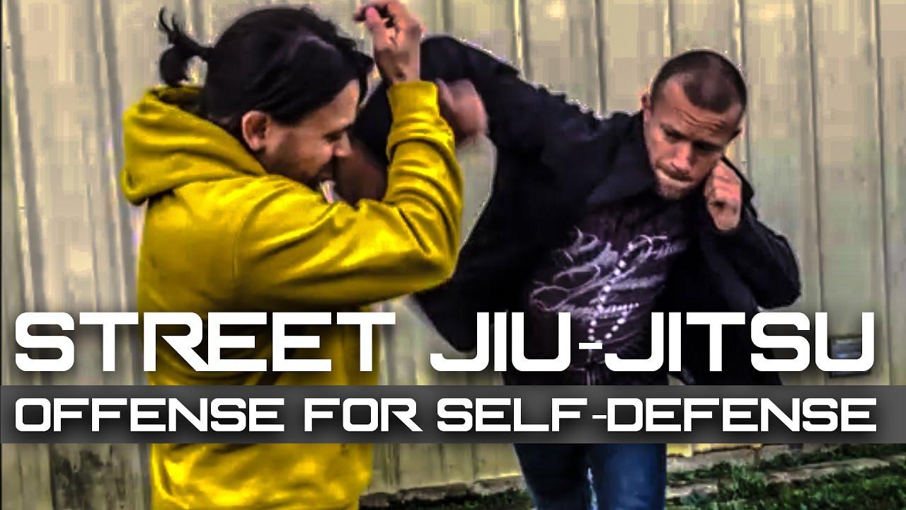 Street Jiu-Jitsu – Striking to Takedown Technique BJJ