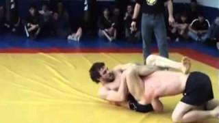 UFC fighter Khabib Nurmagomedov vs First Russian BJJ Black Belt