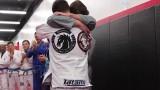 Very Emotional BJJ Black Belt Promotion