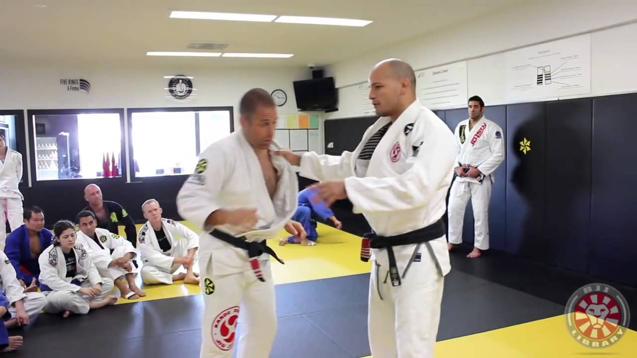 Xande Ribeiro One Handed Grip Break Y Grip Break