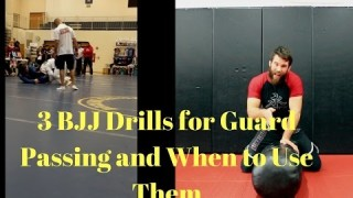 3 BJJ Solo Drills for Guard Passing and When to Use Them – Nick Albin