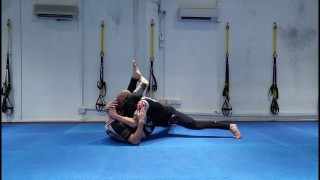 3 Triangle Escapes and 2 submission counters – Josh Robinson
