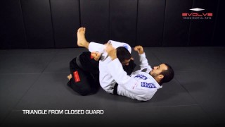 5 Triangle Choke Variations In 1 Minute | Evolve University