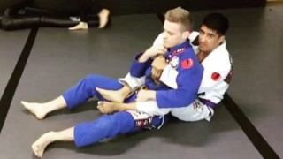 Escape Back Control Into Deep 1/2 Guard To Waiter Sweep