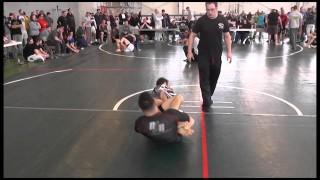 Eddie Cummings (Renzo Gracie) vs Josh Hayden Nogi BJJ Leg Lock Battle