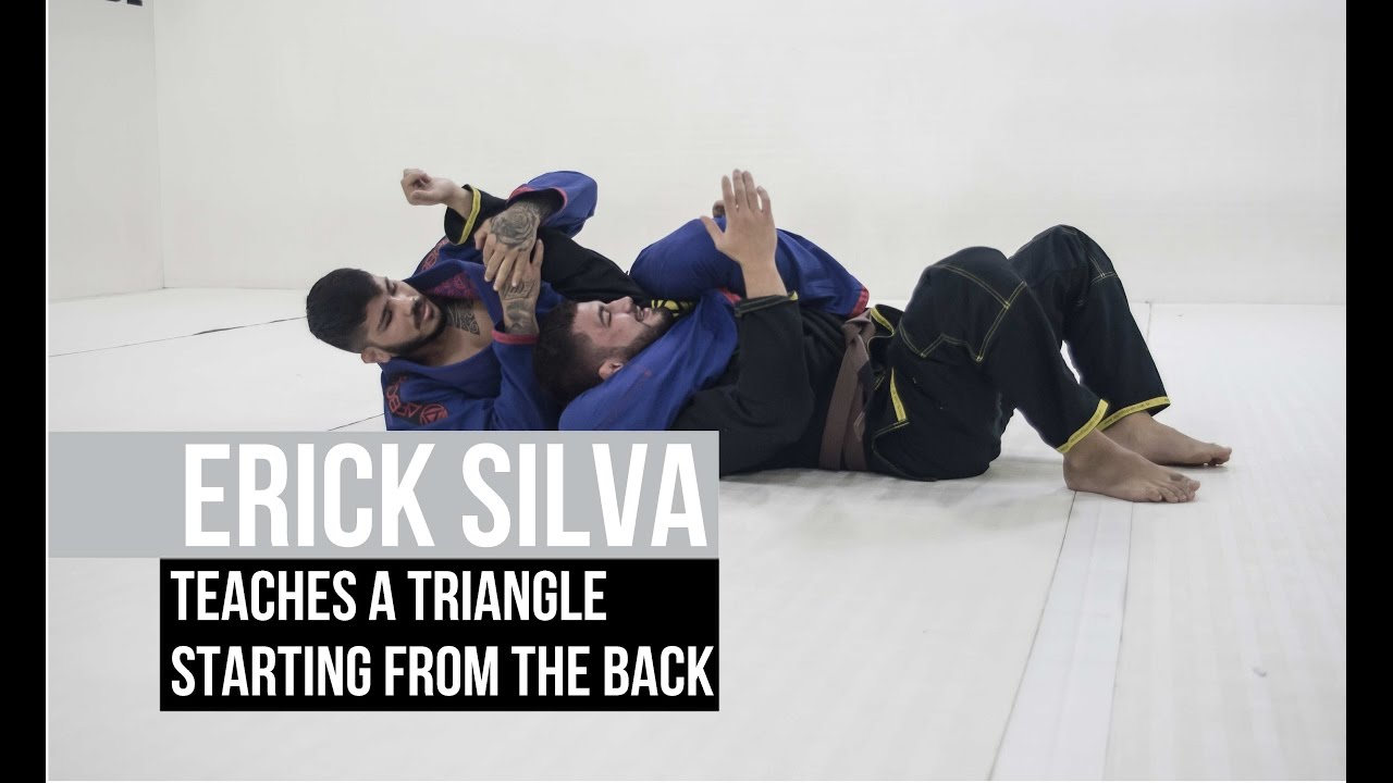 Erick Silva teaches a triangle starting from the back