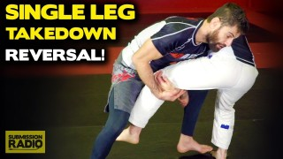 How To Reverse a Single Leg Takedown (End Up On Top!)
