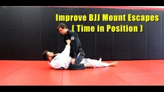 Improve BJJ Mount Escapes by Getting Comfortable – Nick Chewy Albin