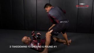 Rafael Dos Anjos' 3 Essential MMA Takedowns | Evolve University