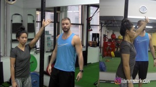 The best mobility drill for fighter's shoulders –  BJJ Black Belt Dr. Andreo Spina