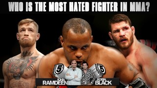 The Most Hated Fighters in MMA  (Fan Vote)