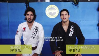 3 Variations from Inverted DLR guard – Felipe Pena