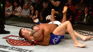Jacare's Stellar Guard Pasing in MMA