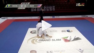Awesome darce choke from Edwin Najmi yesterday