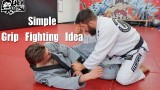 Annoying Grip to Frustrate Knee Shield / Half Guard Players – Nick Albin