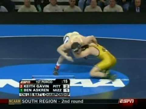 Askren  Using 50/50 to score in the NCAA Championships