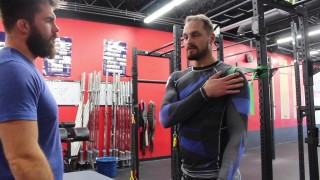 Banded Exercise / Stretch for Over Worked BJJ shoulders