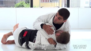 Choke from Half Guard – Vitor Shaolin