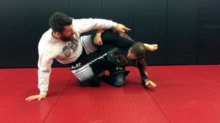 Coaching a BJJ Student through a Mount Escape to Sweep – Nick Albin