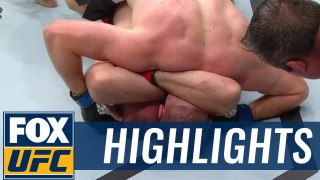 First Ezekiel choke finish in UFC history- Aleksei Oleinik