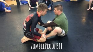 Guillotine Options From Butterfly Guard – Kent Peters