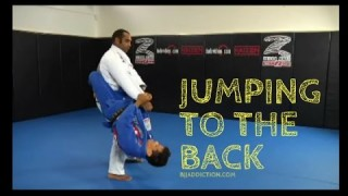 How to Jump Guard and Take the Back- Cobrinha