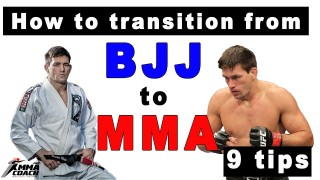 How to transition from BJJ to MMA