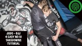 Judo / BJJ 4 Easy No Gi Takedowns Tutorial- Craig Ewers