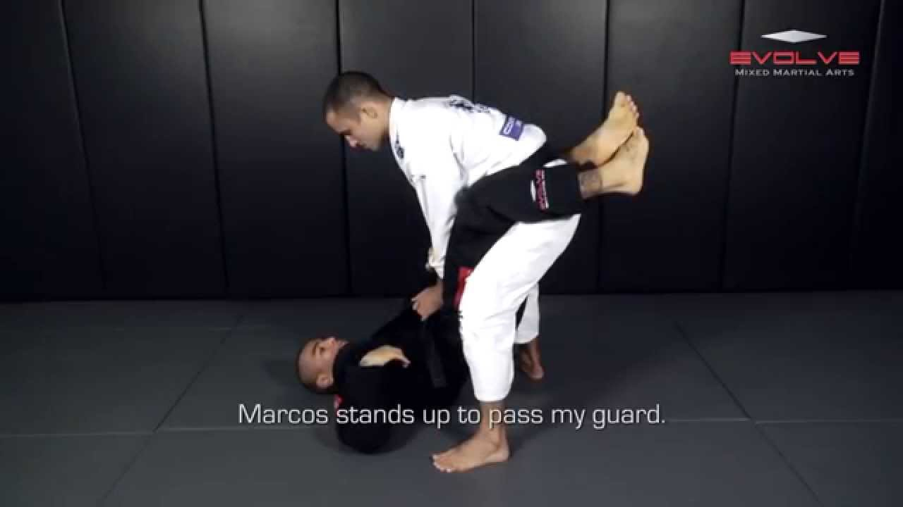 Leandro Issa Knee Bar From Closed Guard | Evolve University