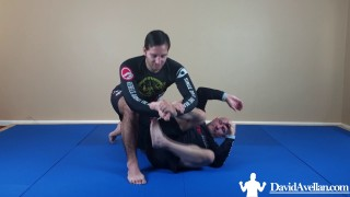 Rolled Ankle Toe Hold – David Avellan